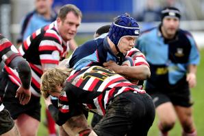 Burrows is ton-up boy for Yorkshire Carnegie