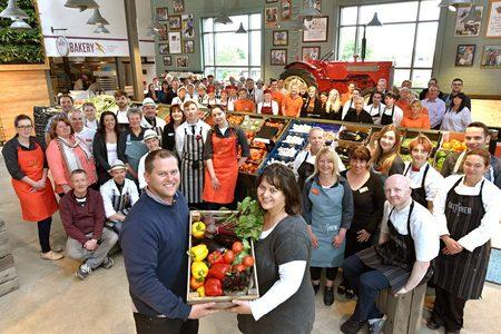 New store signals a bright future for farm shop pair