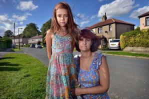 Mother's anger after daughter hit by car outside her front door
