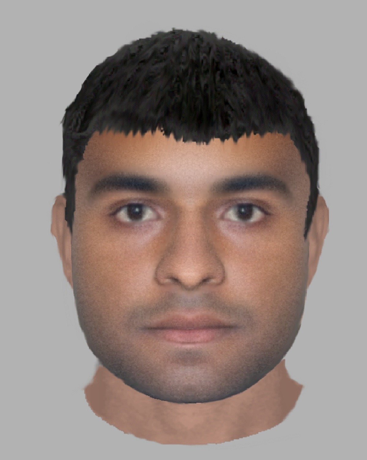 The e-fit released by police today