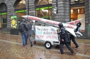 Nuclear weapons protest takes place in Bradford